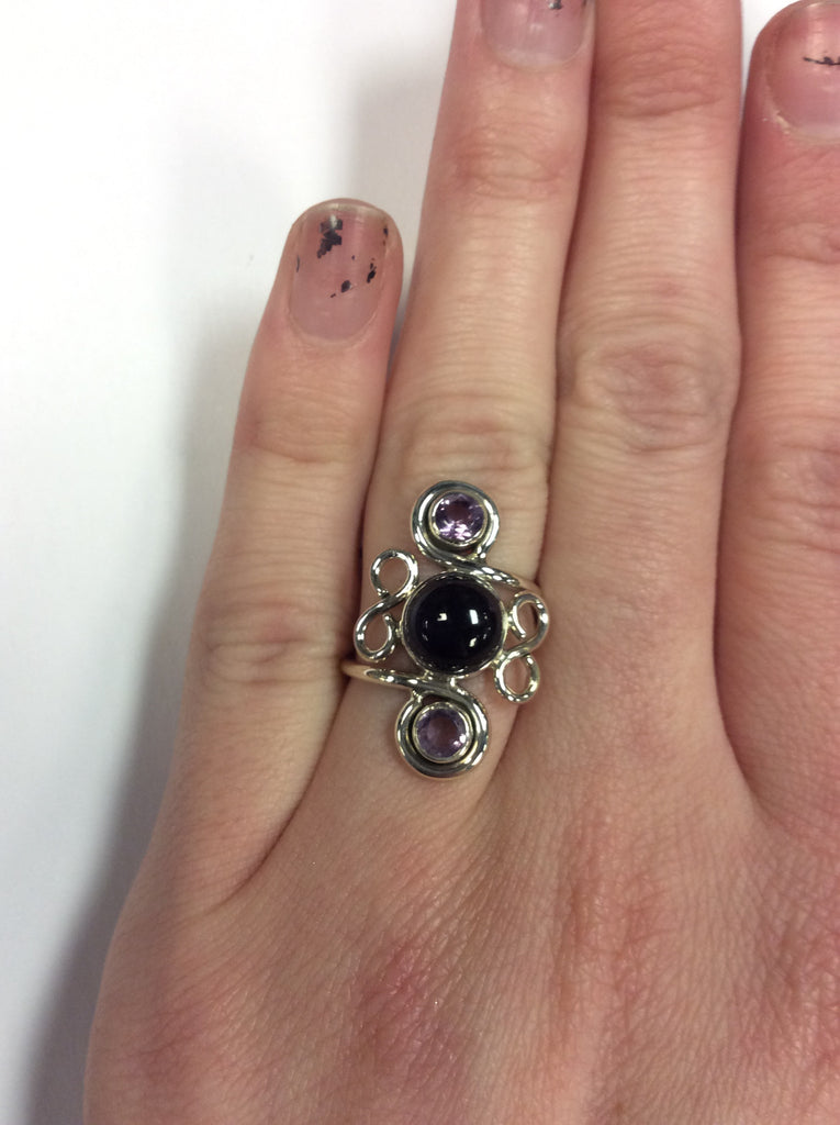 Sterling Amethyst Ring