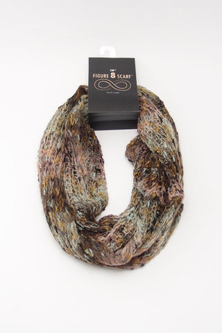 Multi Color Marble Infinity Scarf
