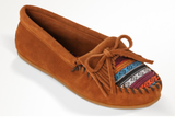 Minnetonka Arizona Kilty Moccasin Brown