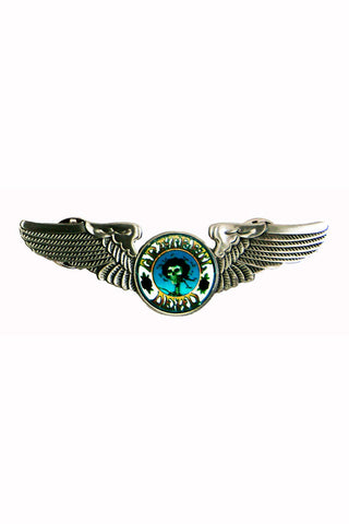 Rock Wings Grateful Dead Skull & Roses Hat Pin