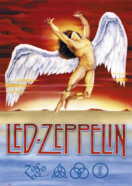 Led Zeppelin Swan Poster
