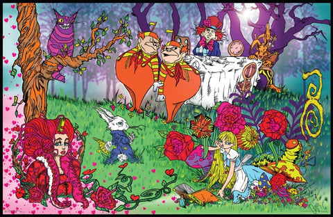 Alice in Wonderland Adventures Poster