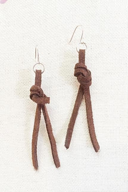 Rope Suede Earrings