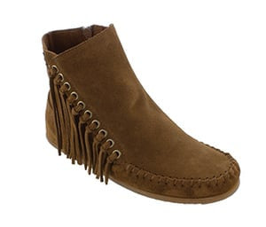 Minnetonka Willow Boot Dusty Brown