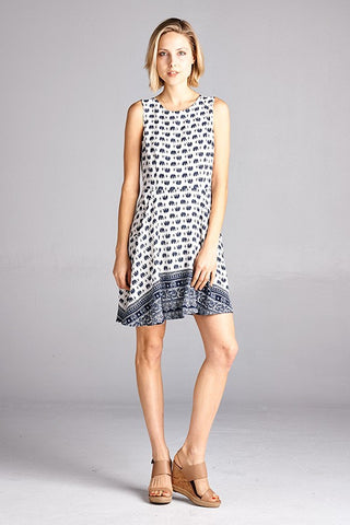 Mini Elephant Midi Dress