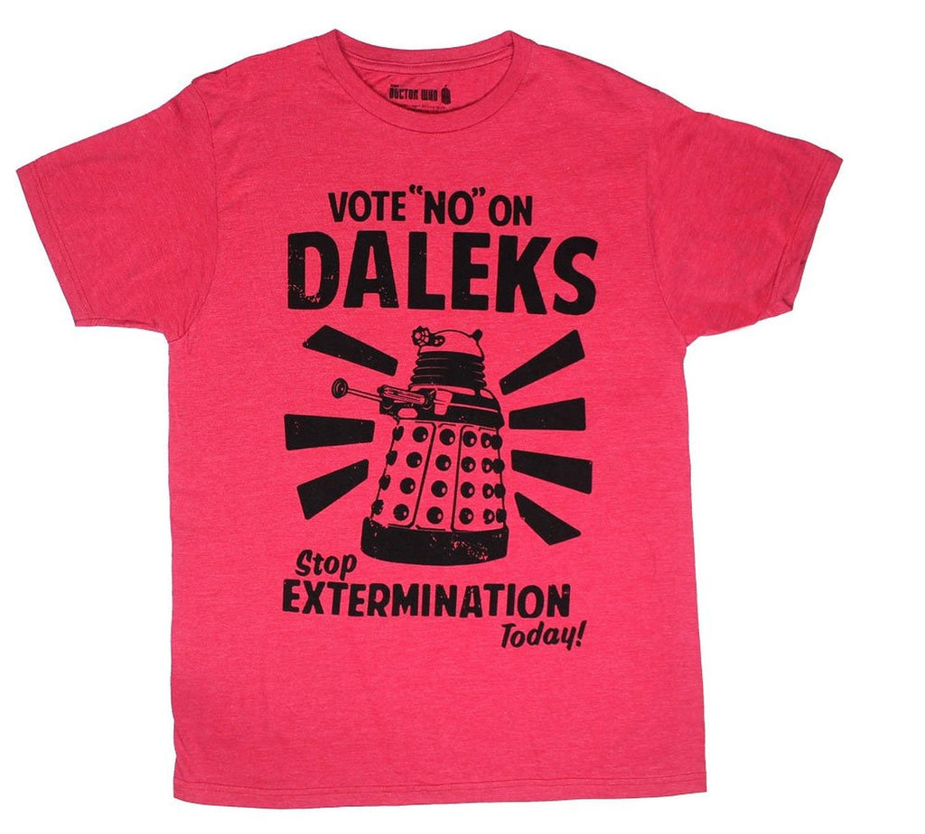 Dr Who Vote No T-shirt