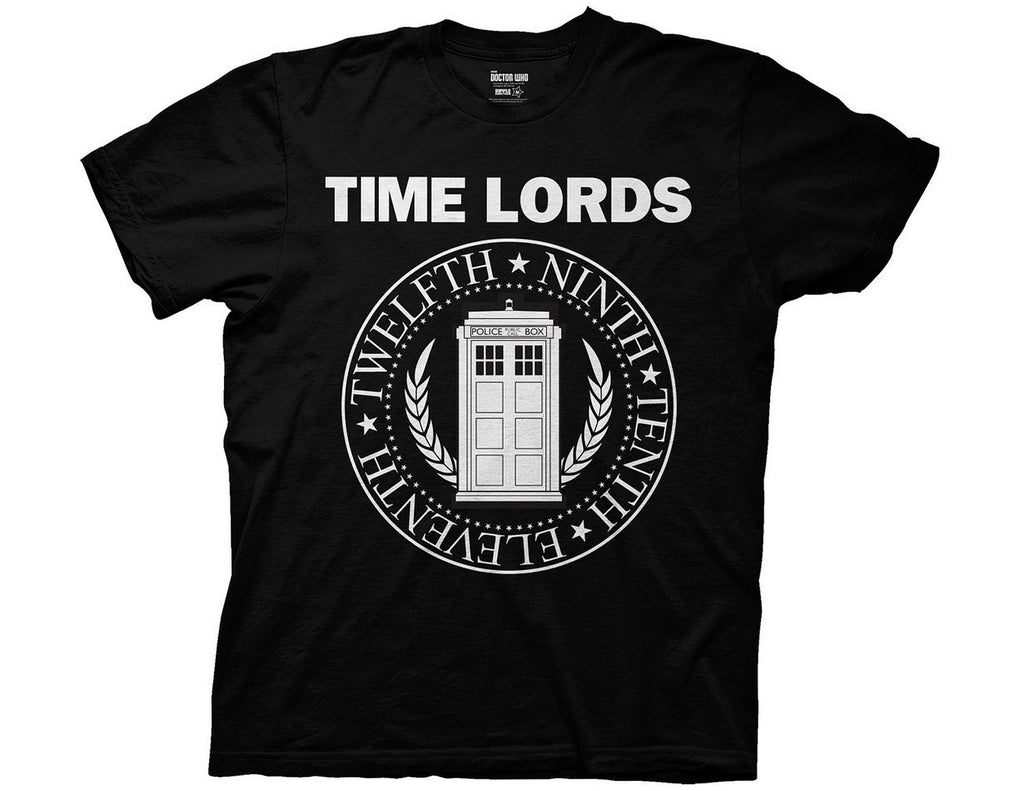 Dr Who Time Lord T-shirt