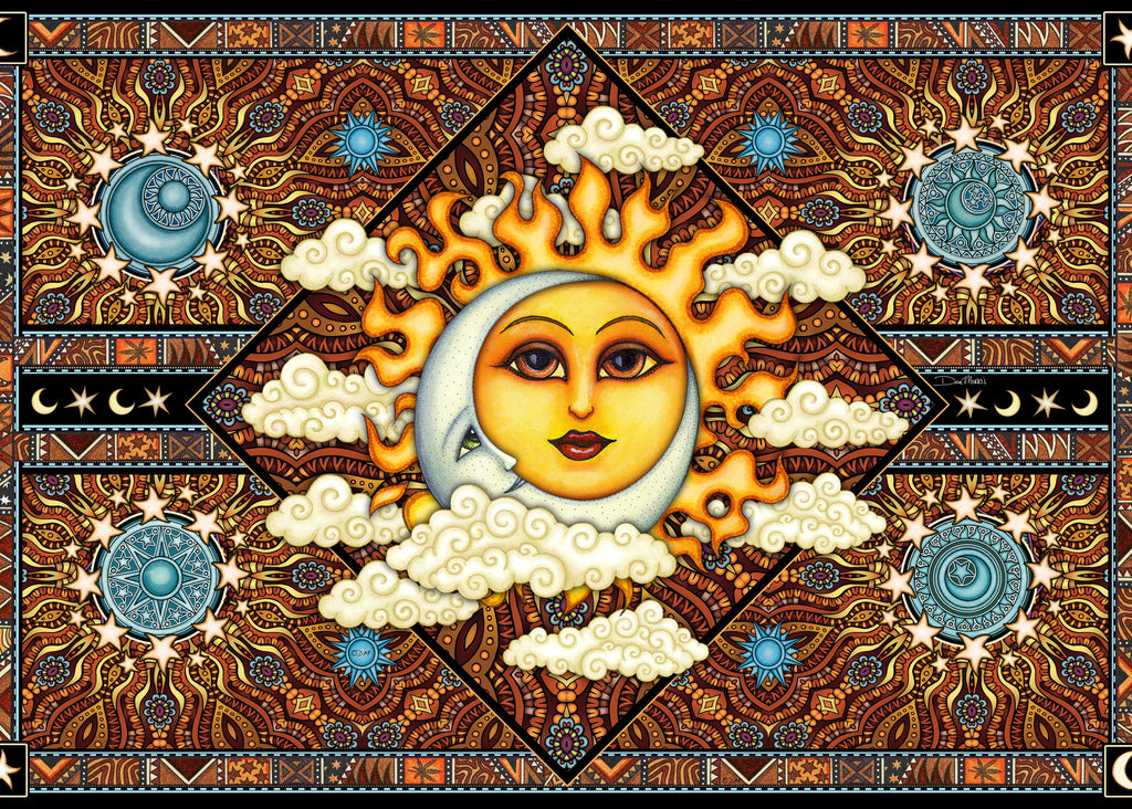 Dan Morris Sun Moon Cloud Tapestry