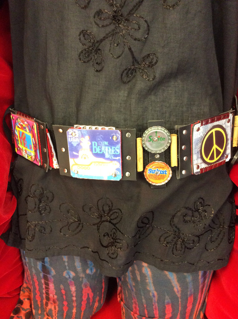 The Beatles Handmade Panel Belt