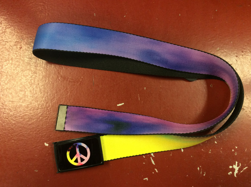 Peace Sign Flip Belt