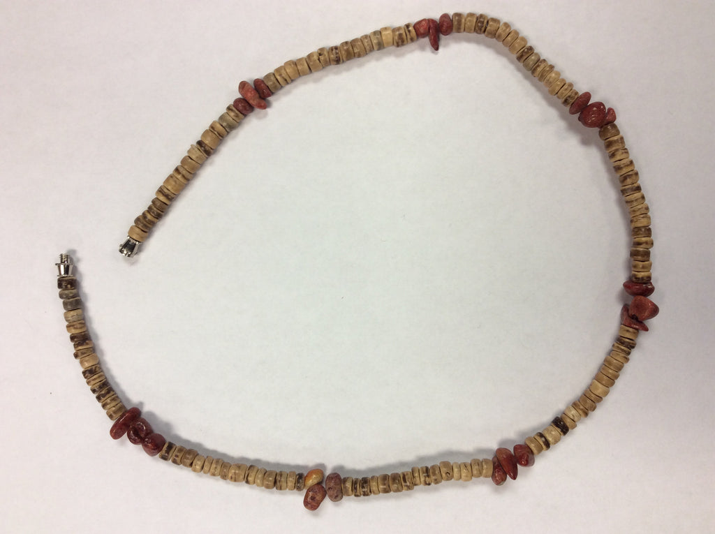 Carnelian Semi Precious Stone Beaded Necklace