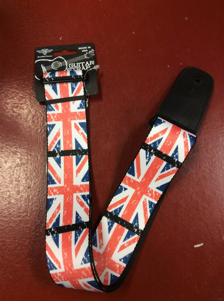 British Flag Guitar Strap