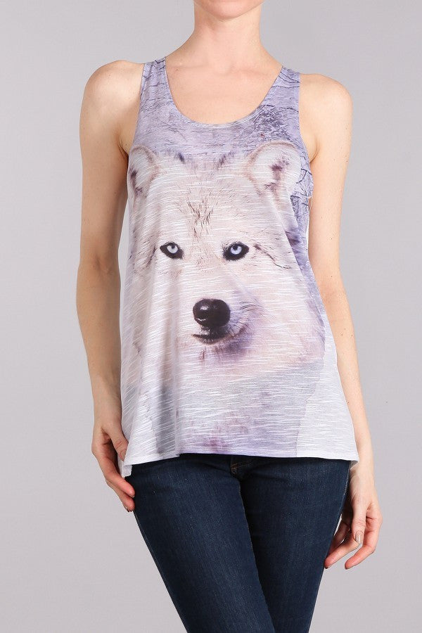 Wolf Sublimation Tank Top