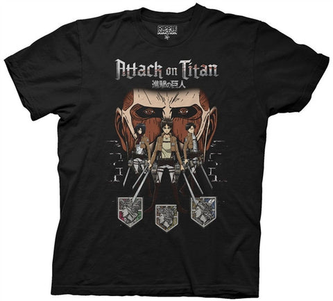 Attack On Titan In Shadows T-shirt