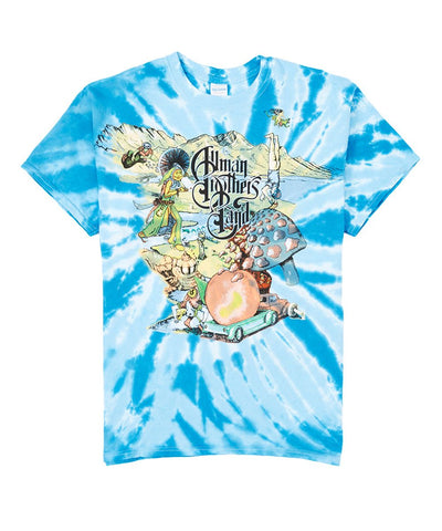 Allman Brothers 1996 Collage T-Shirt