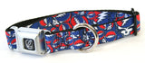 Grateful Dead Steal Your Face Seat Belt Buckle Adjustable Dog Collar