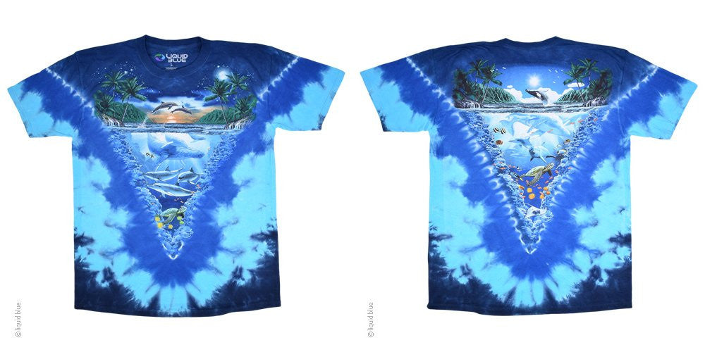 Night Time Dive Tie Dye T-shirt