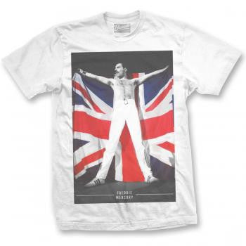 Queen Freddie Mercury Flag T-shirt