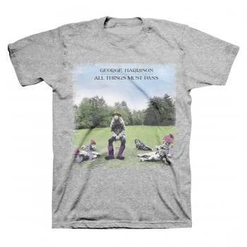 Beatles George Harrison All Things Must Pass T-shirt