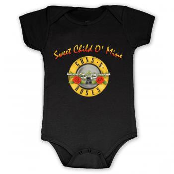 Guns & Roses Sweet Child Of Mine Onesie