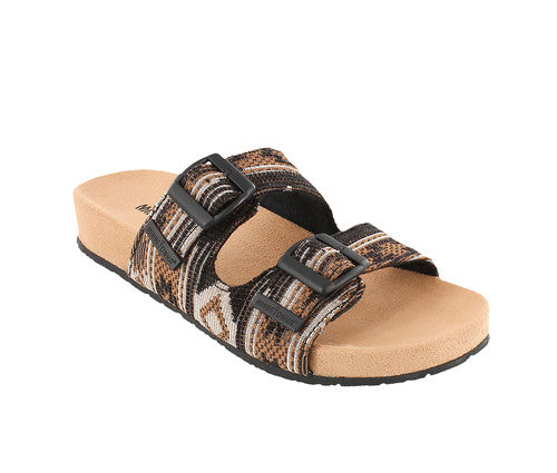 Minnetonka Gypsy Tapestry Sandal Black