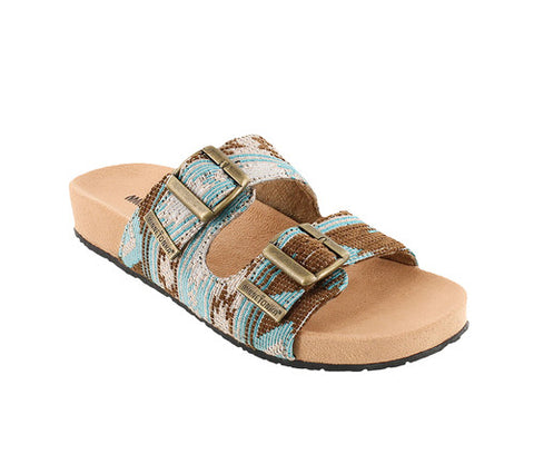 Minnetonka Gypsy Tapestry Sandal Turquoise