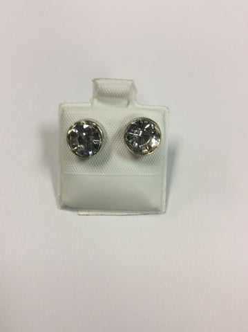 Large Diamond Stud Earring