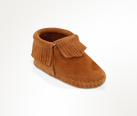 Minnetonka Baby Riley Bootie Brown