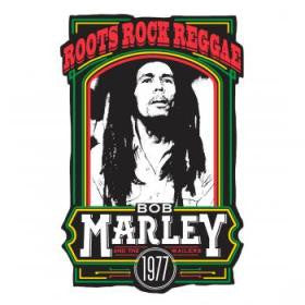 Bob Marley Roots Rock Reggae Hat Pin