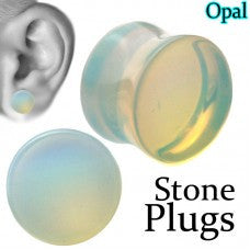 Gauges-Opalite Plugs