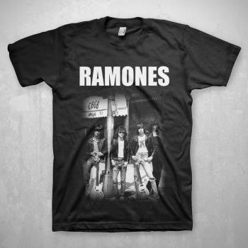 Ramones CBGB Group Photo T-shirt
