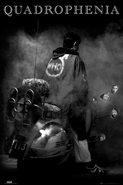 The Who Quadrophenia Poster