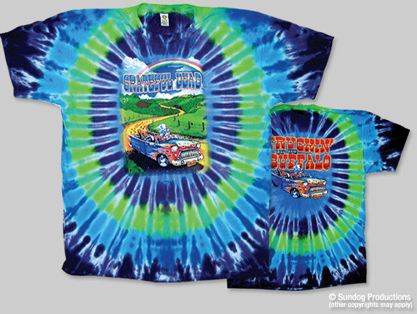 Grateful Dead Truckin' Tie Dye T-shirt