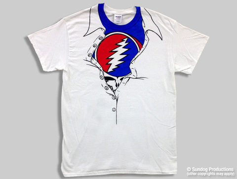 Grateful Dead Steal Your Face Unleahed T-shirt