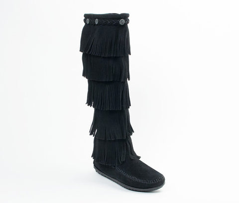 Minnetonka 5 Layer Boot Black