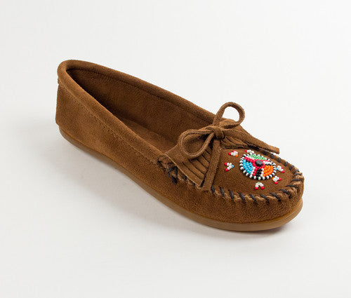 Minnetonka Me to We Moccasin Brown
