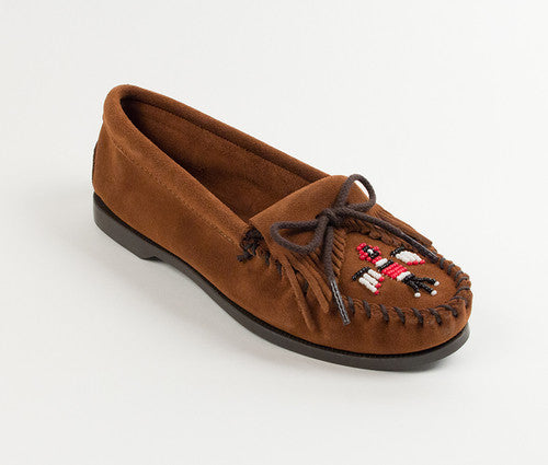 Minnetonka Thunderbird Moccasin Brown