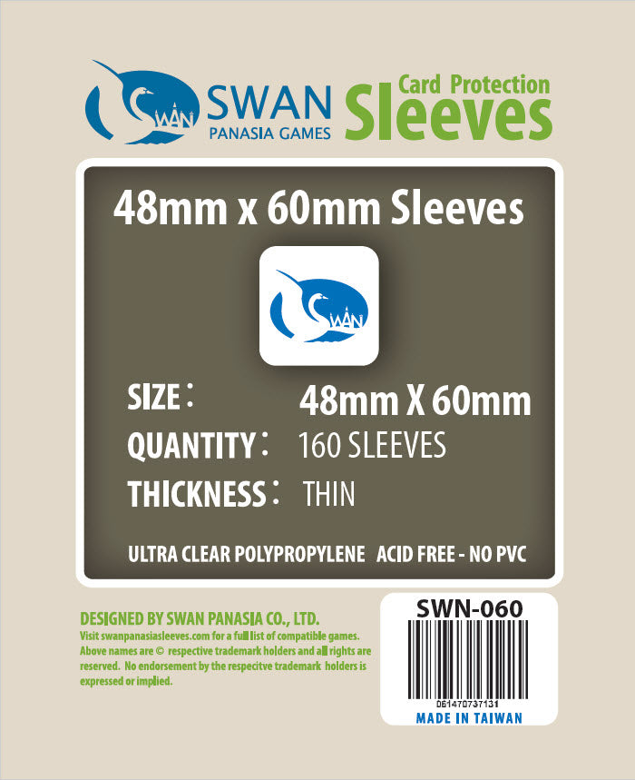48x60mm-160 Pack (Thin/Standard)