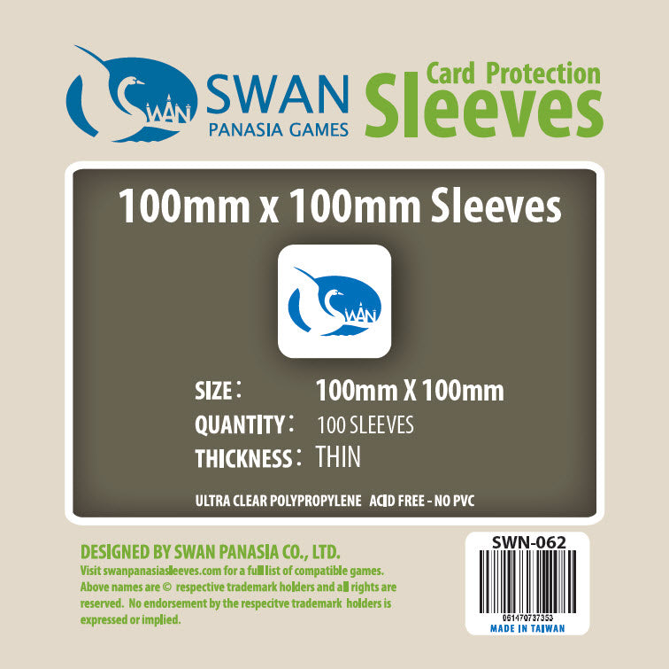 100x100mm-100 Pack (Thin/Standard) (Etherfields Compatible) SWN-062