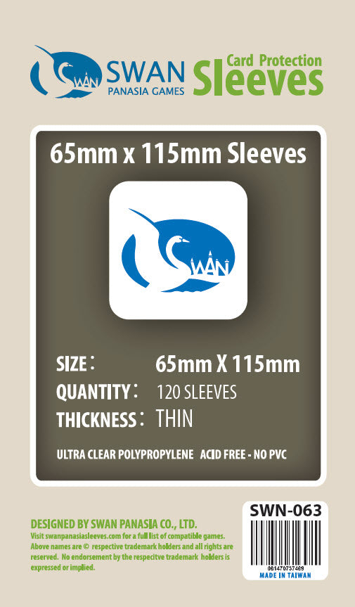 65x115mm-120 Pack (Thin/Standard)