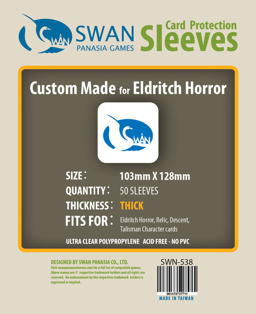 103x128mm-50 Pack Premium/Thick Card Sleeves (SWN-538)