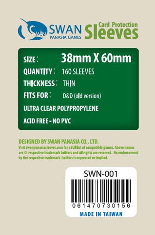 38x60mm - 160 Pack, Thin Sleeves  (SWN-001)
