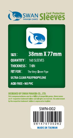 38x77mm - 160 Pack, Thin Sleeves - The Very Clever Pipe