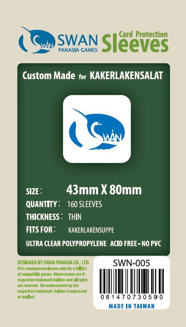 43x80 mm Kakerlaken-Suppe, Kakerlakensalat -160 per pack