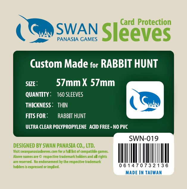 57x57 mm Rabbit Hunt -160 per pack