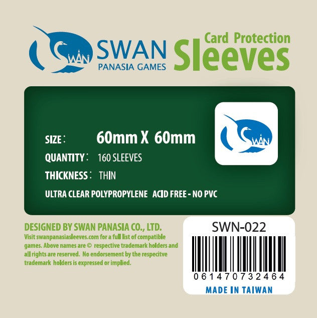 60x60 mm  -160 per pack, SWN-022