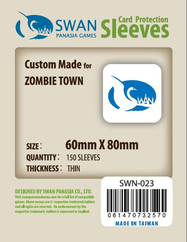 60x80 mm Zombie Town--2011 New -150 per pack SWN-023