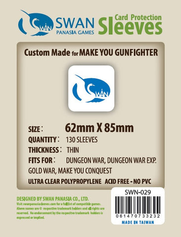 62x85 mm Make You Conquest,Make You Gunfighters -130 per pack