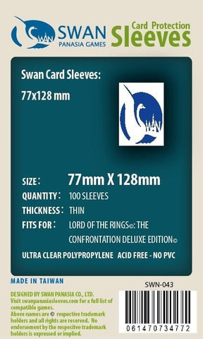 77x128 mm LOTR: the Confrontation Deluxe -100 per pack
