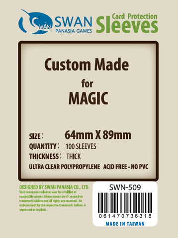 Premium: 64x89 mm Std Card Magic -100 per pack